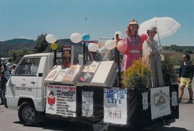 Santa Parade 1989