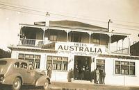 Hotel Australia, Sepia, 1920s