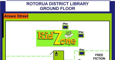 Ground Floor Map.