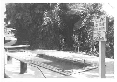 Foot bath Kuirau Park 1960s