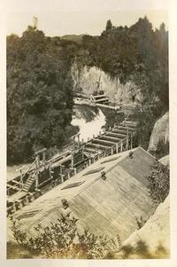 Formwork for Okere Power Station 1925