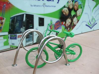 Green Bikes appear around Rotorua