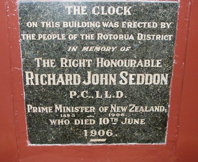 Memorial to Richard Seddon