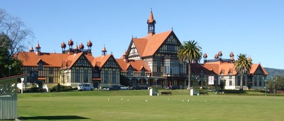 Rotorua Museum of Art and History.