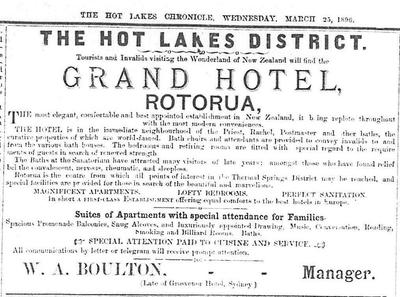 HLC Advert for Grand Hotel
