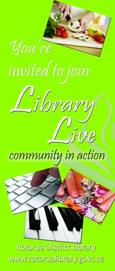 Library Live Banner