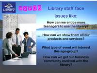 Slide 2, Expo 06 at Rotorua District Library, a Report.