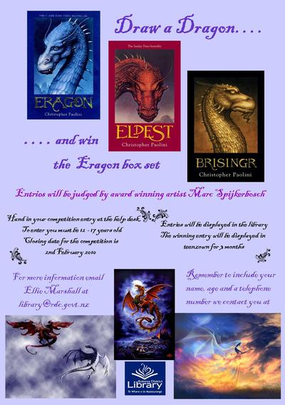 Brisingr Look alike Competion Poster