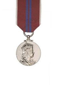 Queen's Coronation Medal, 1953