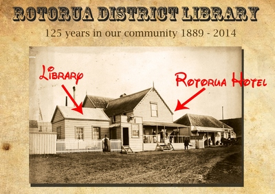 Rotorua Library the earliest photo