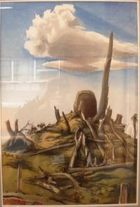Rotorua Artist, Ted Bullmore