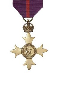 Officer of the Most Excellent Order of the British Empire (OBE).