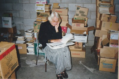 Hard at work for the1998 Book Sale