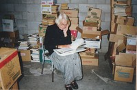 Hard at work for the1998 Book Sale.