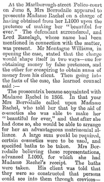 Papers Past excerpt from Grey River Argus 22.08.1898