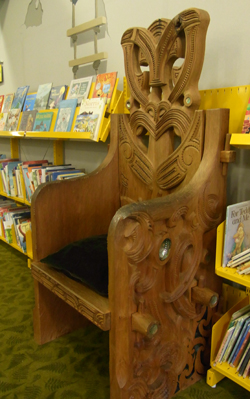 Story Chair arrives in Kidzone