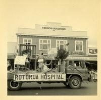 Christmas Parade Tutanekai Street 1965 The Rotorua...