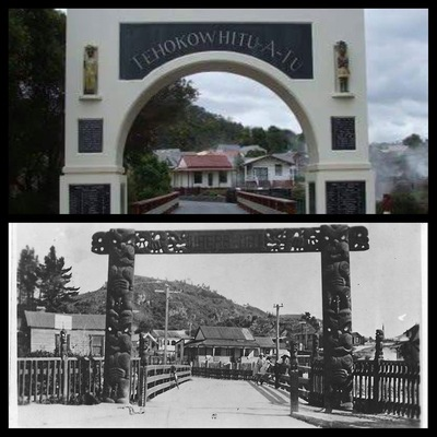 Te Hokowhitu a tu at Whakarewarewa
