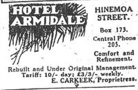Advert from New Zealand Herald 15 May 1931