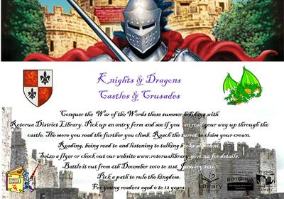 Knights n Dragons Children's Holiday Programme.