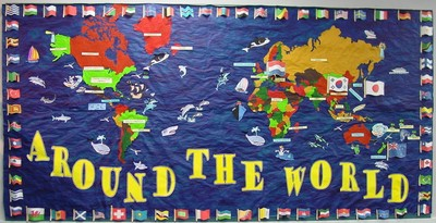 Around the World Mural