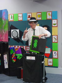 Magician at Super Sleuth Holiday Programme.