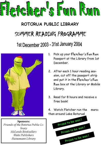 Fletcher's Fun Run Holiday Reading Programme