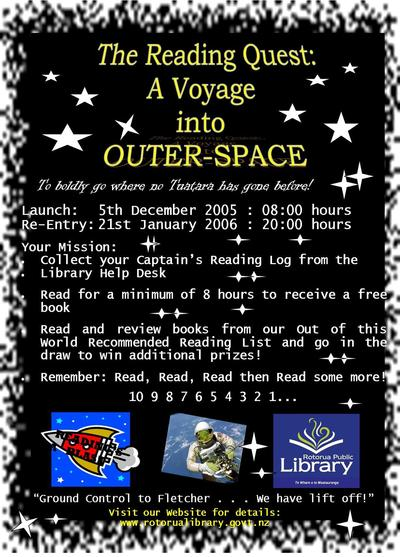 Reading Quest : A Voyage into Outer Space