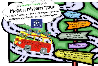 Fletcher Tuatara's Magical Mystery Tour Poster