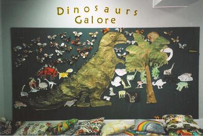 Dinosaurs Galore Display