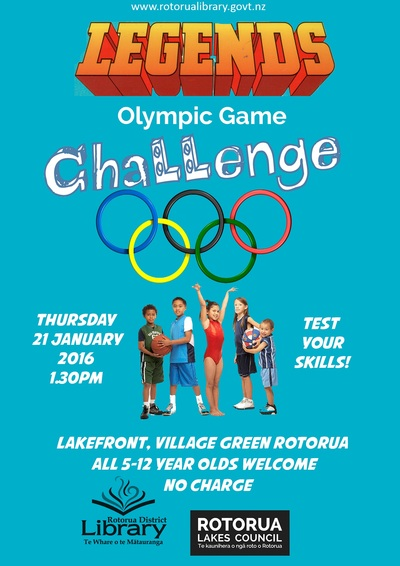 Legends Olympic Game Challenge.