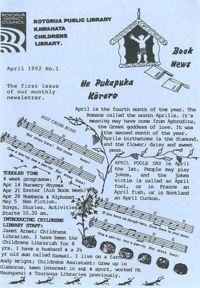 He Pukapuka Korero : Book News