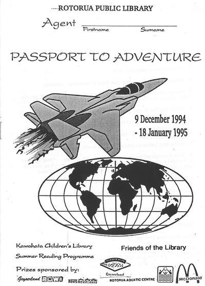 Passport to Adventure, Booklet
