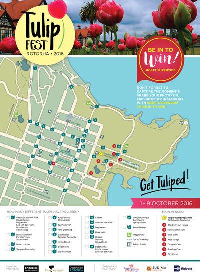 Tulip Fest 2016 Logo