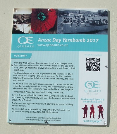 Anzac Day Remembered by QE Spa