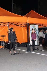 Matariki Star Search, Audition Two at the Night Market.