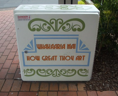 Unison Box Makeover SE cnr Fenton and Hinemoa Streets, side 2..