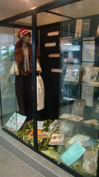 Family History Display, foyer.