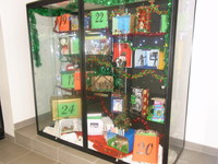 Advent Boxes, foyer display 2010.