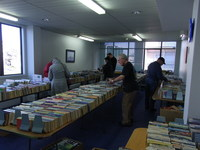 Friends of the Library Book Sale.