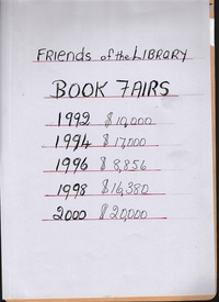 Book Fairs - Fund Raising.