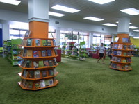 Pillar Shelving Childrens.