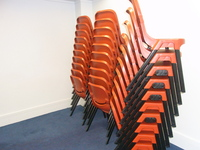 Chairs for Soirees and Author events.